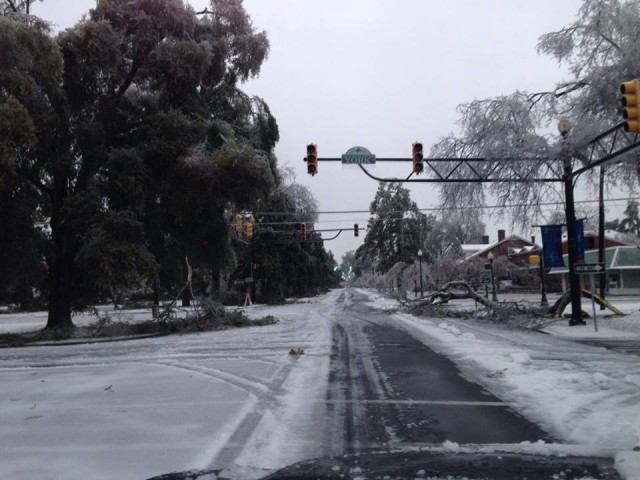 Main street in Aiken. Photo via Kate Samuels.