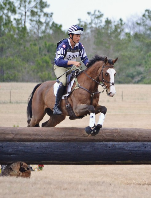 Boyd Martin and Otis Barbotiere at Pine Top. Photo by Jenni Autry.