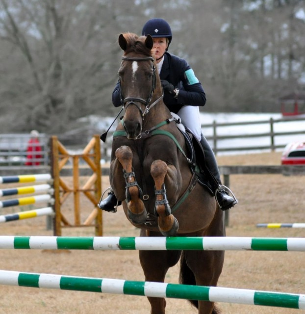 Love this photo of Allison Springer & Arthur having a ball at Pine Top. Photo by Carrie Meehan.