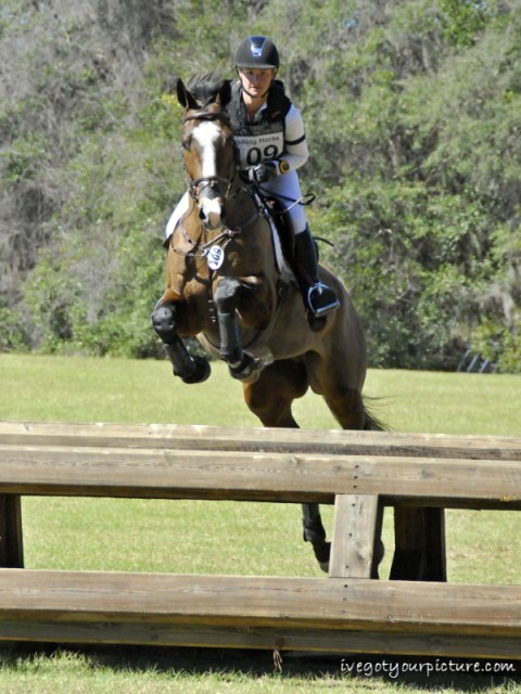 Leah Lang-Gluscic and A.P. Prime in Ocala. Photo by Ivegotyourpicture.com.