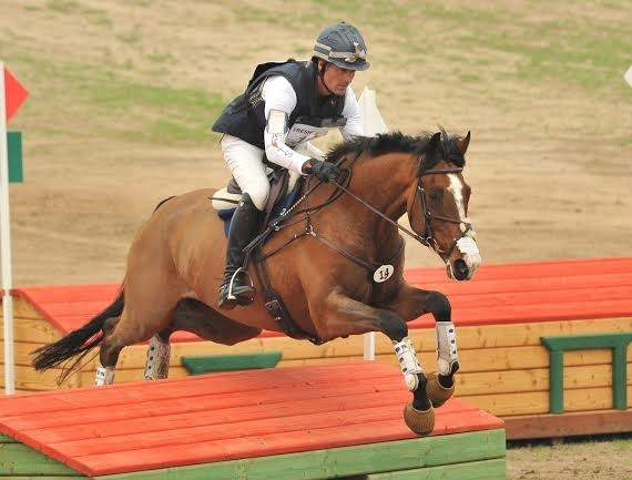 Matthew Brown and BCF Belicoso, FCHP CIC two star winners, Photo by Sherry Stewart