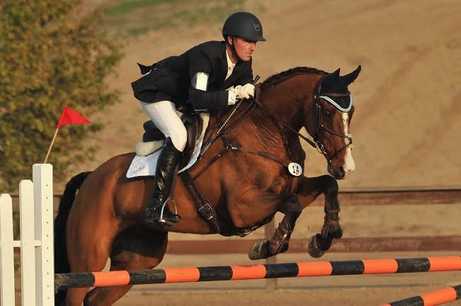Matthew Brown and BCF Belicoso, FCHP CIC two star winners. Photo by Sherry Stewart.