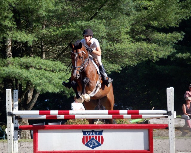 Skybreaker at our THF jumper show last summer