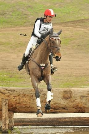 Tamra Smith and Fleur de Lis, FCHP CIC*  winners, Photo by Sherry Stewart