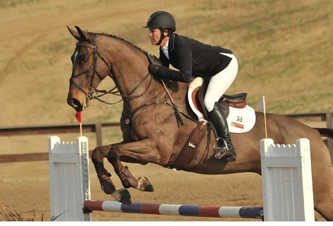 Tamra Smith and Fleur de Lis, FCHP CIC* winners. Photo by Sherry Stewart