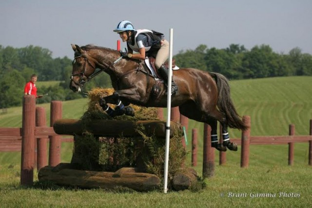 Lauren and Ella in the CCI* at the Virginia Horse Trials in 2012. Photo courtesy of Brant Gamma Photography.