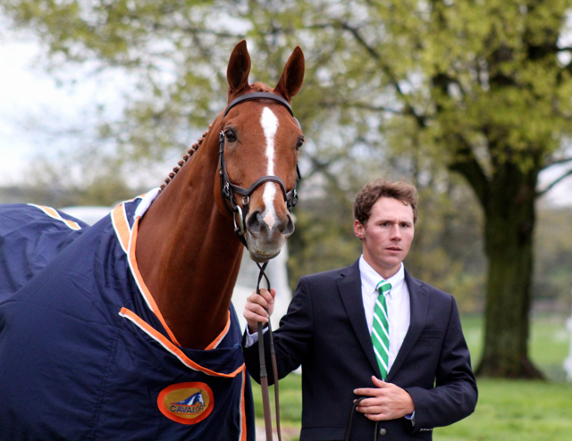Daniel and Houston at Rolex in 2013. Photo by Samantha Clark.