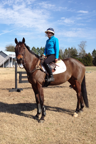Kate Chadderton is back in the saddle!