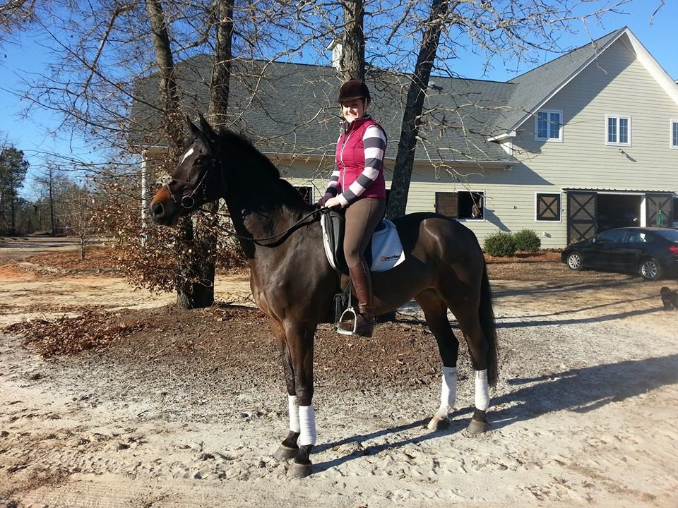 A Might Nice day. Cobie out for a hack in Aiken.