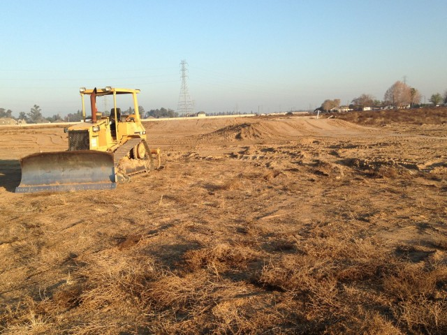Construction on new facilities at Fresno County Horse Park. Photo courtesy of John Marshall.