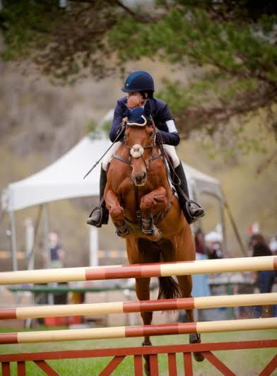 Christa & George at Red Hills in 2012 in the Intermediate. Photo by Diane Flowers.