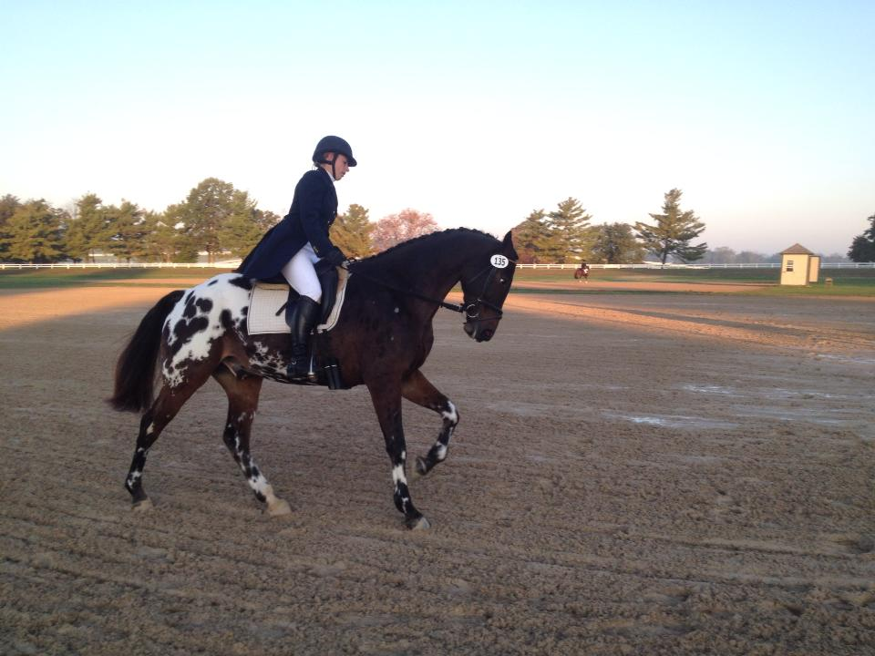 Andrea and Wapentake at the Hagyard Midsouth 3Day. Photo by Megan Moore.