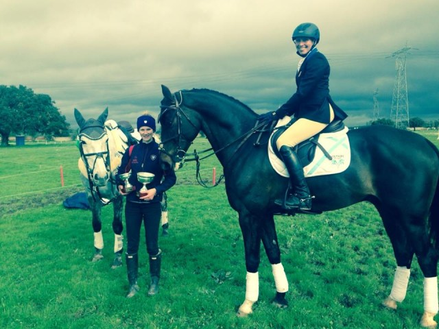 Liz, Blackie, Cooley and super groom Gemma Jelinska at Barroca. Photo via Liz's Facebook page.