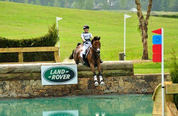 Anna and Vega Monster  at Chatahoochee Hills CIC** in Georgia, their last event together. Photo credit to Hoof Clix