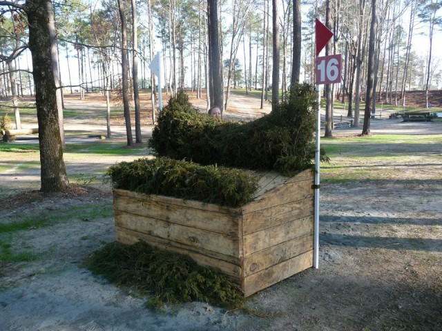 """One of the fences on our first Intermediate at Southern Pines, 2010."" photo credit to Melanie Loschiavo"