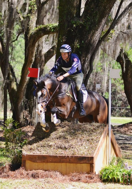 Boyd Martin and Trading Aces win the Red Hills CIC3*! Photo by Jenni Autry.