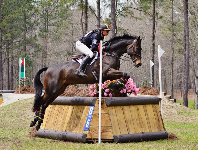 Doug Payne and Crown Talisman at Carolina International. Photo by Jenni Autry.