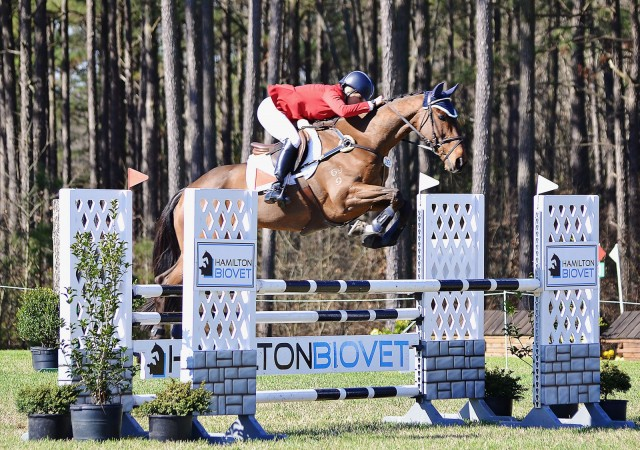 Jan Byyny and Inmidair at the Carolina International CIC3*. Photo by Jenni Autry.