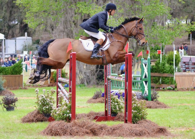 Kevin Keane and Fernhill Flutter at Red Hills. Photo by Jenni Autry.