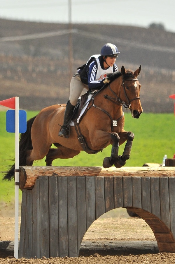 Lauren Billys and Ballingowan Ginger, 1st place in Advanced, photo by Sherry Stewart