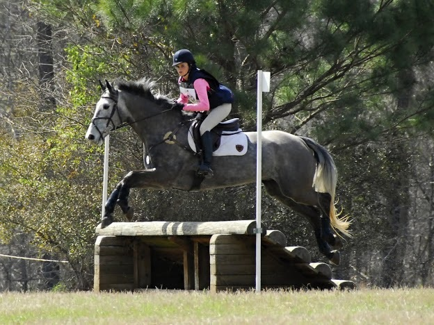 Emily Rusinyak and Fernhill Rip Tide in Open Novice.  Photo by Ivegotyourpicture.com.