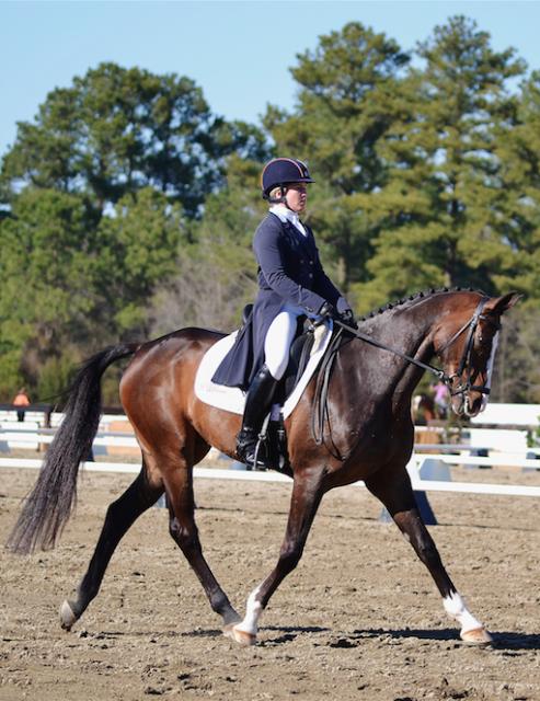 Sharon White and Wundermaske at Carolina International CIC3*. Photo by Jenni Autry.