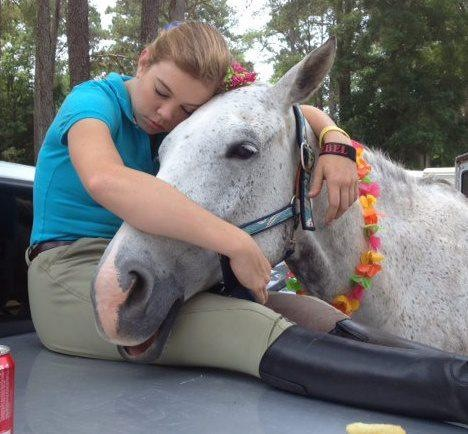 Taylor and Rebel. Photo courtesy Patricia Dileo.