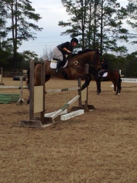 Putting our skills to good use in a jump school.