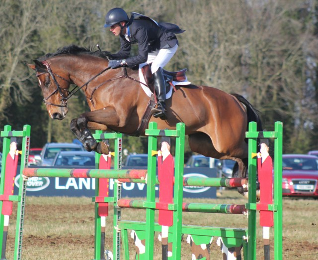 Clark and Glen at Gatcombe this past weekend. Photo by Samantha Clark for PRO.