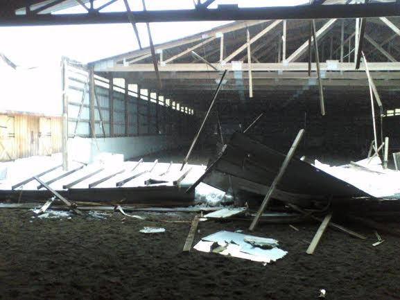 indoor collapse