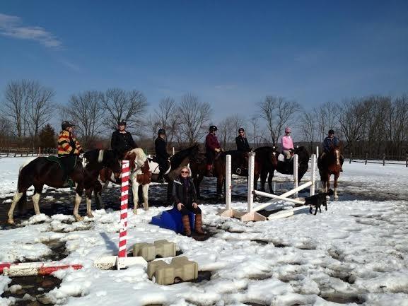 snow arena riders