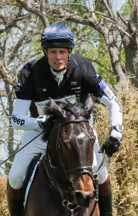 William Fox-Pitt and Bay My Hero. Photo by Megan Stapley.