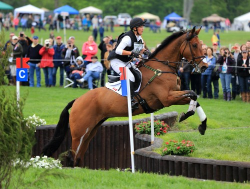 Bruce Kendall's winning photo of Shandiss McDonald at Rolex 2013.