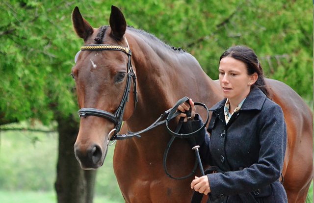 Kate Chadderton and Collection Pass at Bromont. Photo by Jenni Autry.