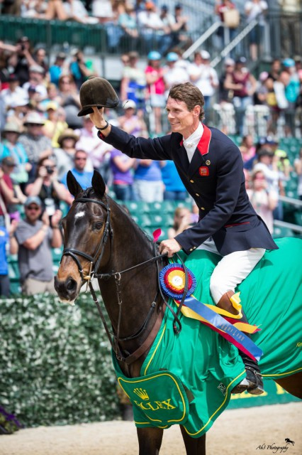 William Fox-Pitt and Bay My Hero. Photo by Alec Thayer.