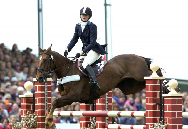 Lucinda Fredericks and Headley Britannia on their way to winning Badminton in 2007. Photo used with permission from Kit Houghton.