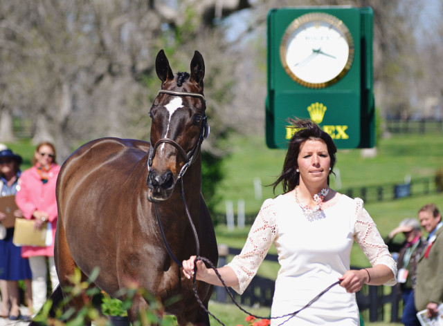 Meghan and Pirate at Rolex. Photo by Jenni Autry.
