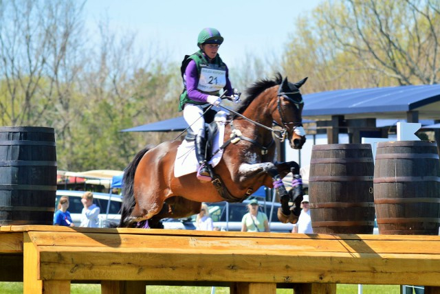 Emily Beshear and Here's To You at Rolex. Photo by Sally Spickard.