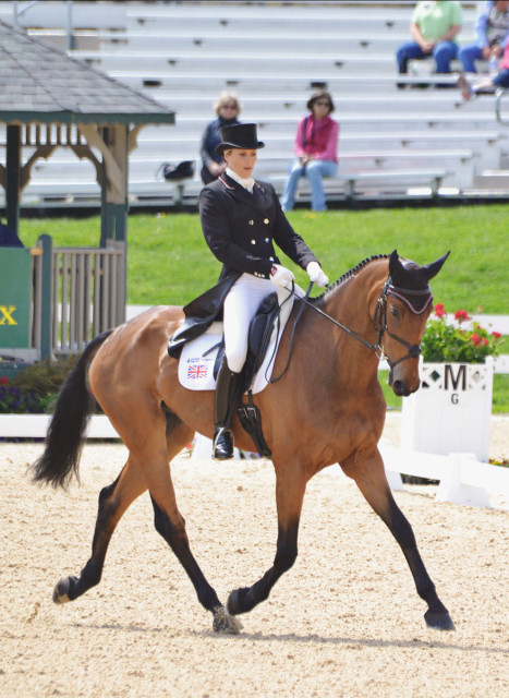Sarah Bullimore and Reve Du Rouet. Photo by Jenni Autry.