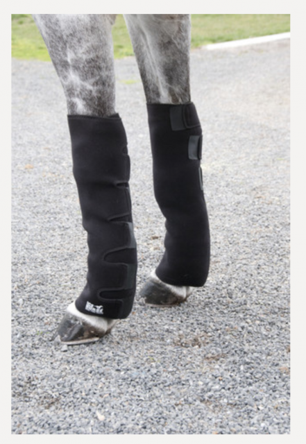 Today's Cold Therapy The Ice Horse Knee to Ankle Wrap [all product photos courtesy Ice Horse]