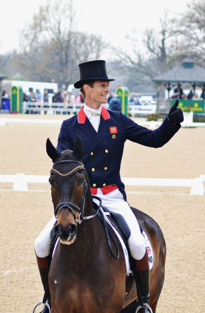 William Fox-Pitt and Bay My Hero. Photo by Jenni Autry.