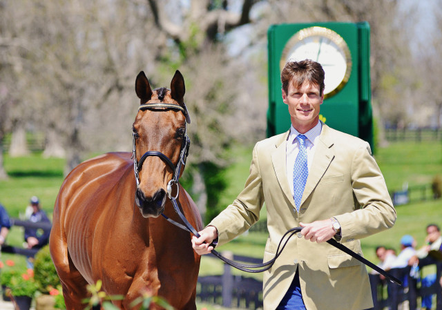 William Fox-Pitt and Seacookie at Rolex in 2014. Photo by Jenni Autry.