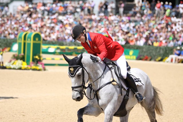 Marilyn Little and RF Smoke on the Water at Rolex. Photo courtesy of Abby Long.