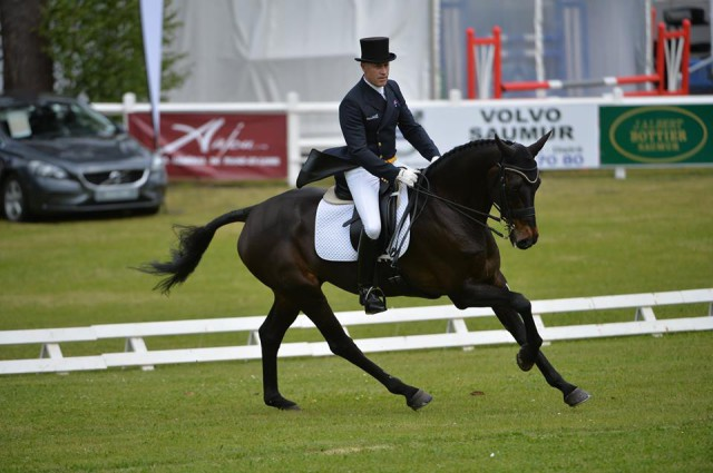 Andrew Hoy and Cheeky Calimbo at Saumur. © Photos Les Garennes - Ouest Image.