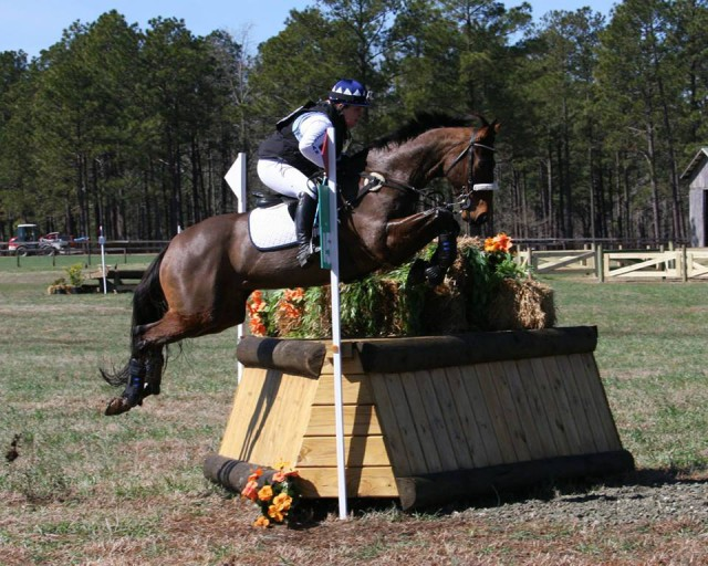 Carrie Mulks and High Octane at Southern Pines H.T. Photo by Julie Greene.