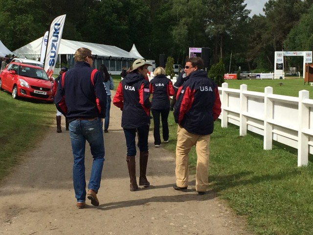 Team USA! Photo used with permission from Saumur Facebook page.