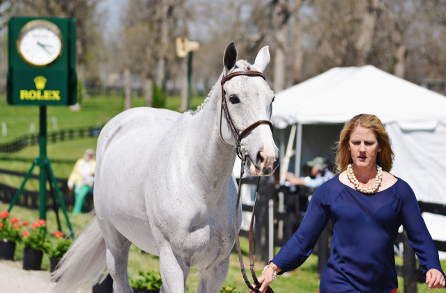 Allison Springer and Copycat Chloe at Rolex. Photo by Jenni Autry.