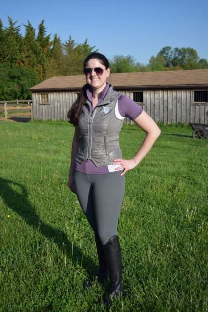 The Athletic Vest from the front.