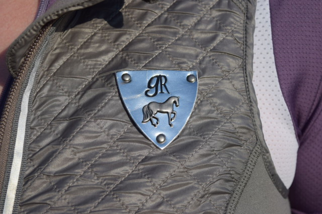 Goode Rider logo on left chest of the Athletic Vest