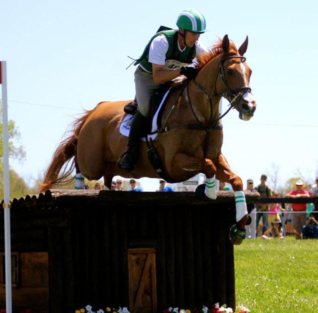 Daniel Classing and Houston at Rolex this year. Photo by Kasey Mueller.